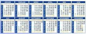 Kalender-quer